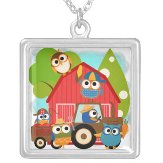 Owl Farmers Necklaces