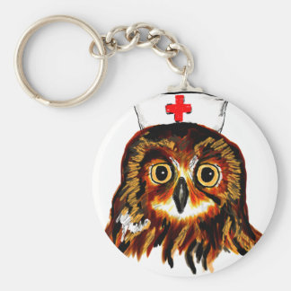 Owl first assistance keychain