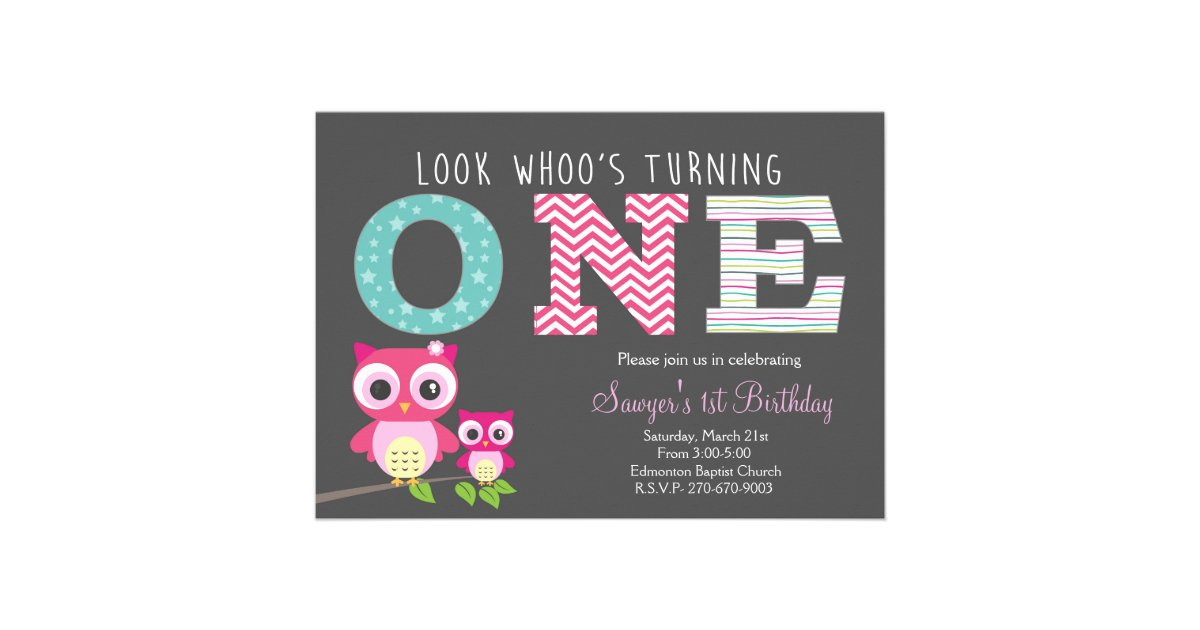 Owl Invitations & Announcements | Zazzle