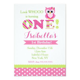 owl birthday invitations  announcements  zazzle, party invitations