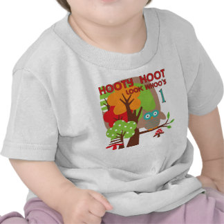 Owl First Birthday T-shirts and Gifts