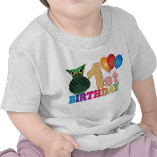 OWL: First Birthday Tshirt