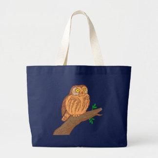 Owl fogy sawing fogy Saw whet owl Bag