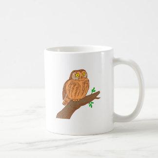 Owl fogy sawing fogy Saw whet owl Mug