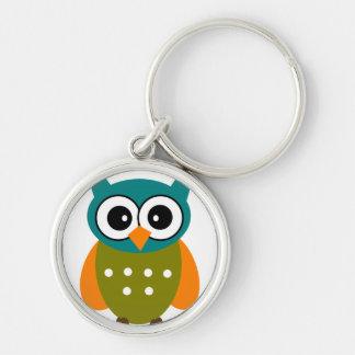 Owl Four Keychain