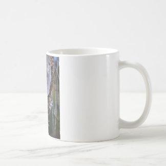Owl Fractal Coffee Mug