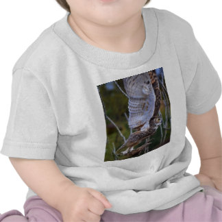 Owl Fractal T Shirts