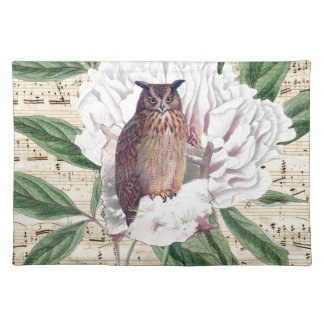 Owl French Placemat