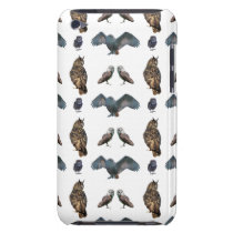 Owl Frenzy iPod Touch Case (choose colour)