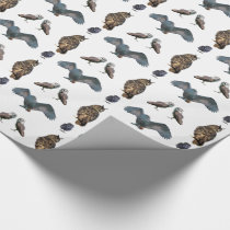 Owl Frenzy Wrapping Paper (choose colour)