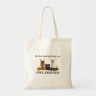 """OWL FRIENDS"" for charity Tote Bag"