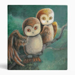 Owl Friends Owl Art Binder