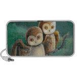 Owl Friends Owl Art iPhone Speakers