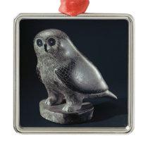 Owl, from Cape Dorset Metal Ornament