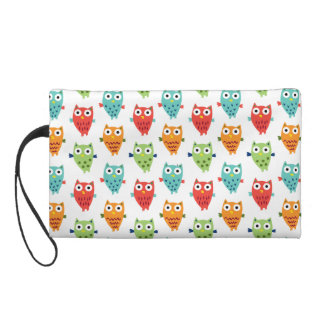 Owl Fun Wristlet Purses