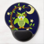 owl gel mouse pad