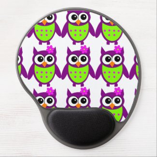 Owl Gel Mousepad Version Adorable