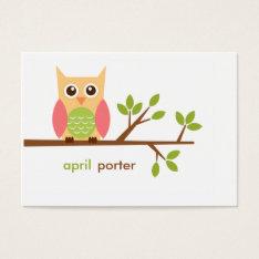 Owl Gift Enclosure, Gift Tag (#gift001) at Zazzle