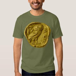 Owl Greek Tee Shirt
