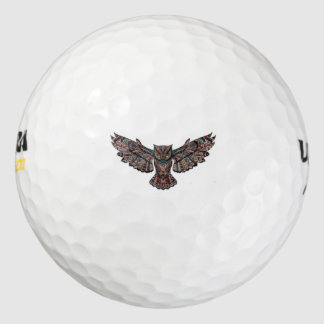 Owl groom bachelor party COLLECTION Golf Balls
