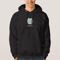 Owl Groom - Fun Design with Custom Text Hoodie
