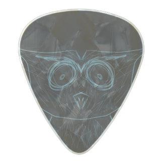 Owl Guitar Pick