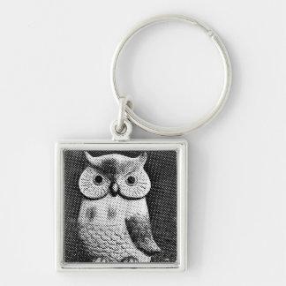 OWL halftone Keychain