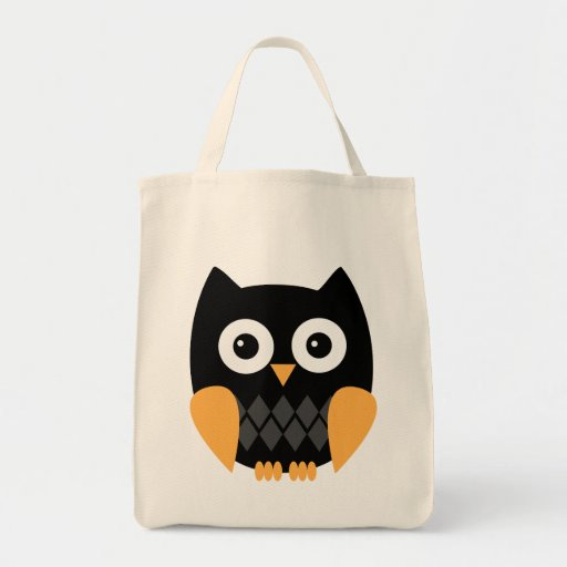Owl Halloween Bag Tote Bags