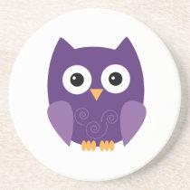 Owl Halloween Coaster