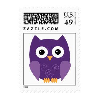 Owl Halloween Postage