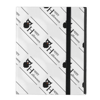 Owl Happy Halloween iPad Case