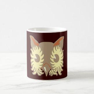Owl head owl head coffee mug
