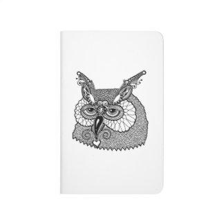 Owl Head Zendoodle Journal