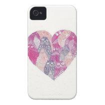 Owl Heart iPhone Case