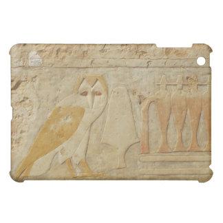Owl Hieroglyphic Detail, Hatshepsut Temple, Egypt iPad Mini Cases