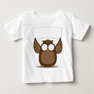 Owl Holding Sign Baby T-Shirt