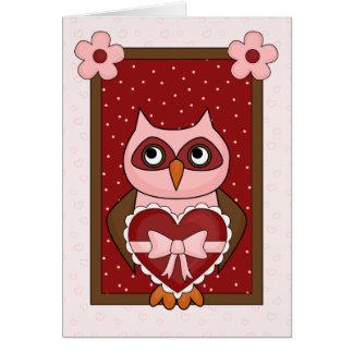 Owl, HOO Loves You Card