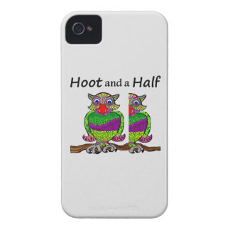 Owl Hoot and a Half Case-Mate iPhone 4 Case
