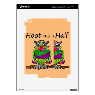 Owl Hoot and a Half Skin For iPad 3