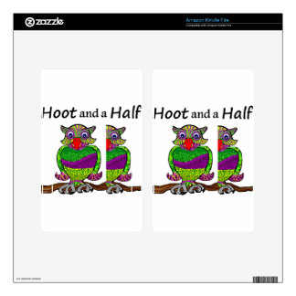 Owl Hoot and a Half Skins For Kindle Fire