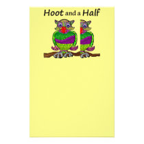Owl Hoot and a Half Stationery