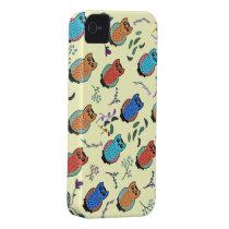 Owl Hoot Case-Mate iPhone 4 Case