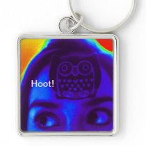 Owl Hoot! Eyeball Keychain