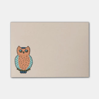Owl Hoot Post-it® Notes
