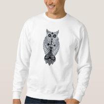 Owl: HQ hand-made, digitally edited artwork Sweatshirt