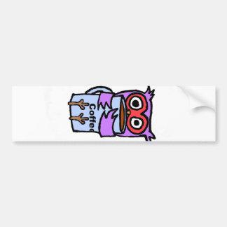 Owl Hugs Coffee Mug Bumper Sticker