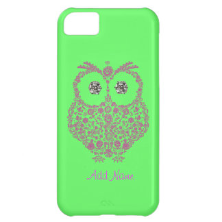 OWL I Phone 5 Case  BLING iPhone 5C Covers