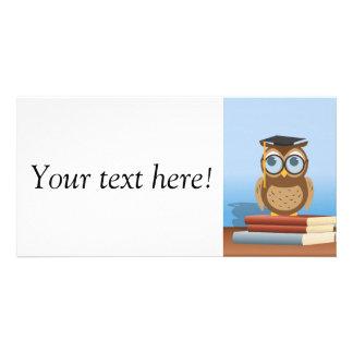 Owl illustration card