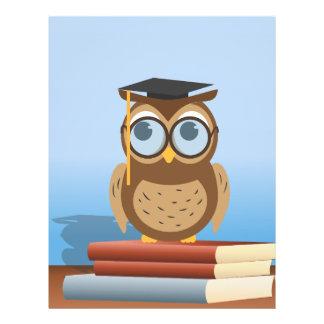 Owl illustration flyer