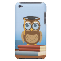 Owl illustration iPod touch case